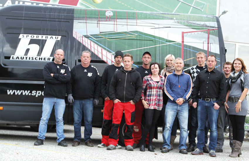 Unser Sportbau HL Team